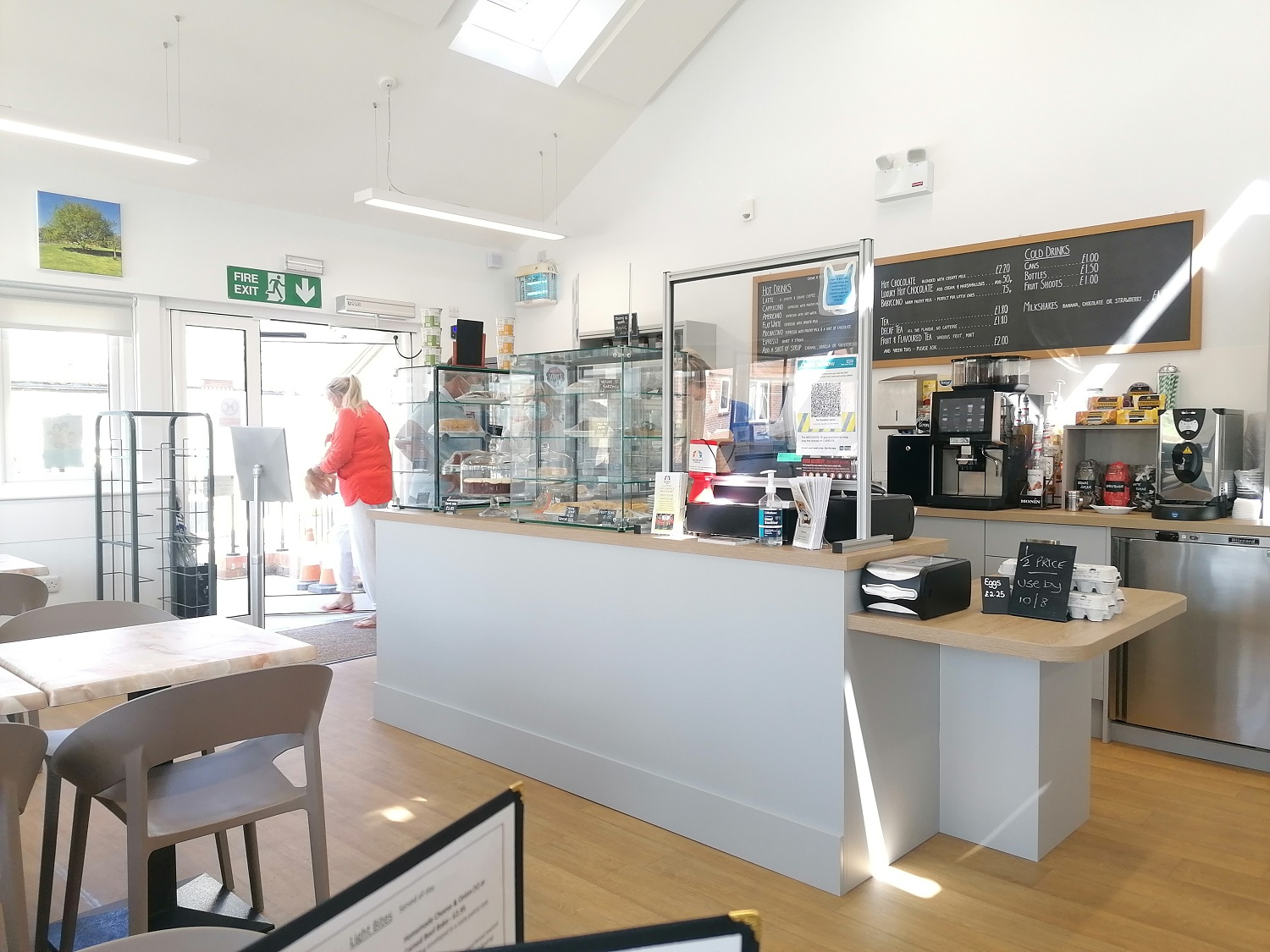 Good coffee in Chichester Harbour