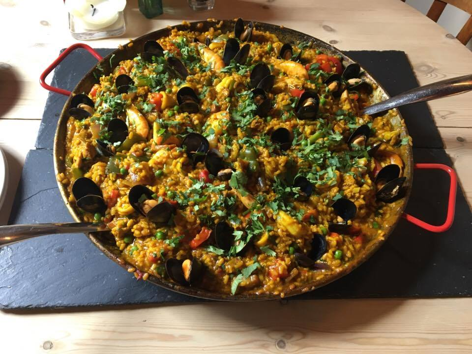 Paella Petworth the South Downs