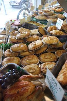 Homemade meat pies East Wittering Chichester