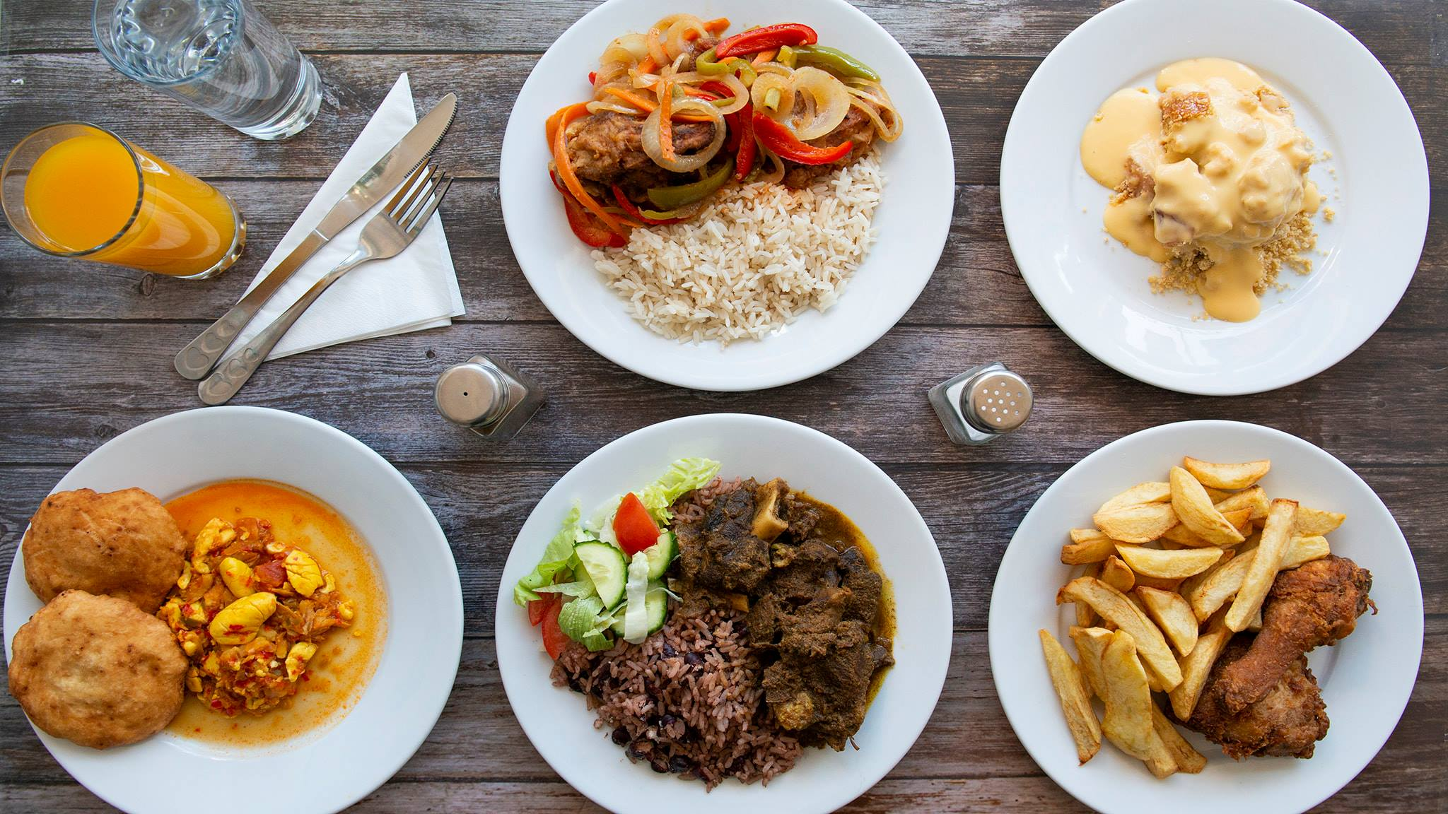 Caribbean food in Portsmouth Hampshire