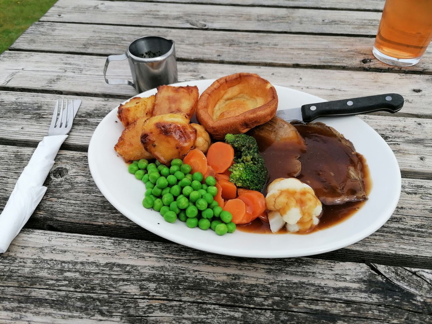 Sunday lunch in the South Downs